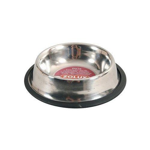 Zolux miska inox na gumie 15cm 0,3l [475475] (3336024754757)
