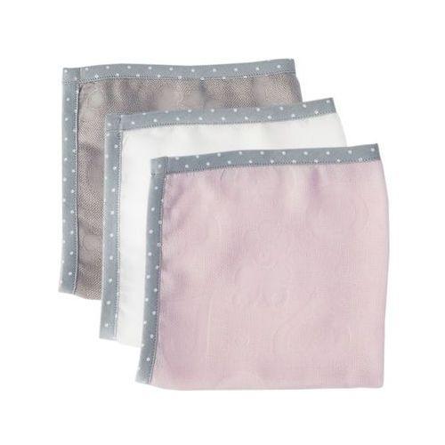 Lullalove Bambusowe pieluszki superro mini set - pink 5903240348329