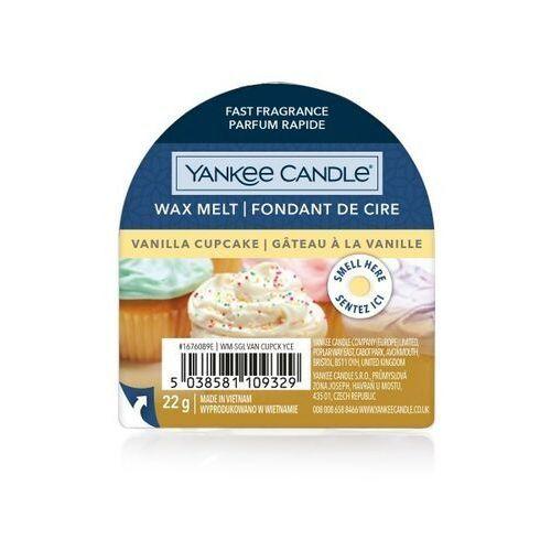 wosk 22g vanilia cupcake marki Yankee candle