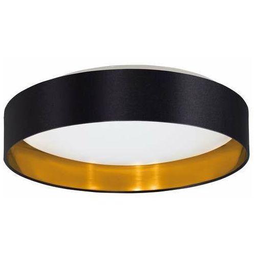 Eglo Maserlo 2 99539 plafon lampa sufitowa 1x24W LED czarny/złoty (9002759995393)