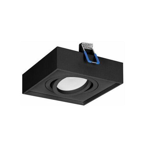 SORMUS S ramka dekoracyjna oprawy punktowej, MR16/GU10 max 50W, regulowana, kwadrat, czarna OR-OD-6168/B