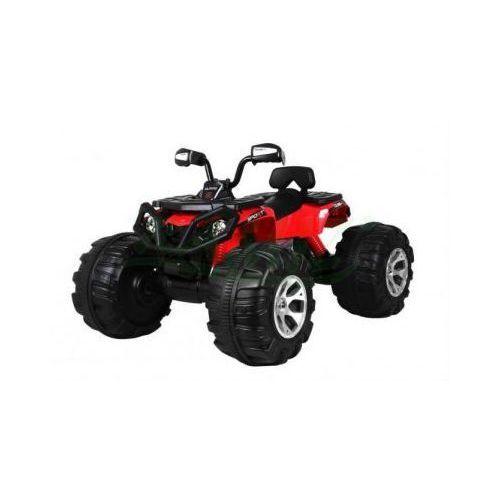 NAJMOCNIEJSZY Quad ATV MONSTER 24V OGROMNE KOŁA JS3188 CZERWONY, JS3188