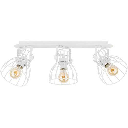 Tklighting Listwa lampa druciana sufitowa plafon spot tk lighting alano 3x60w e27 biała 2118