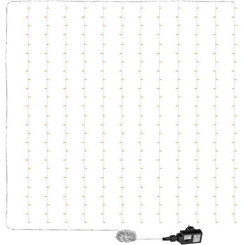Voltronic ® Kurtyna świetlna zwisające lampki sople 3x3m 300 diod - ciepła biel / 3x3m / 300 led (4048821761898)