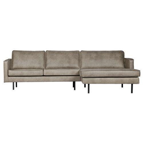 Be pure sofa narożna prawostronna rodeo kolor skóra słonia 800902-105 (8714713083275)