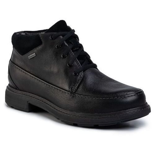 Trzewiki CLARKS - Un Tread On Gtx GORE-TEX 261454487 Black Leather