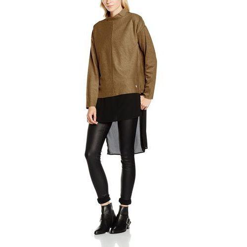 Sweter VERO MODA dla kobiet, kolor: brązowy, rozmiar: 36 (rozmiar producenta: S), kolor czarny