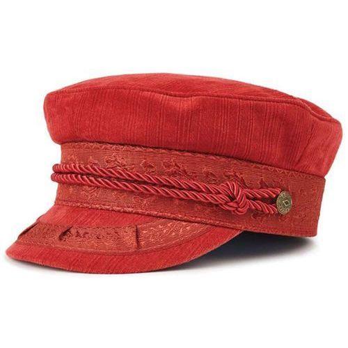 czapka z daszkiem BRIXTON - Albany Cap Burnt Orange (BTORG) rozmiar: XS, kolor pomarańczowy