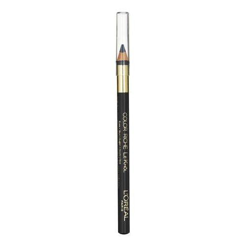 L'Oréal Paris Make-Up Designer Color Riche Le Khôl 101 Midnight Black Ołówek Czarny eyeliner, 3054080046981