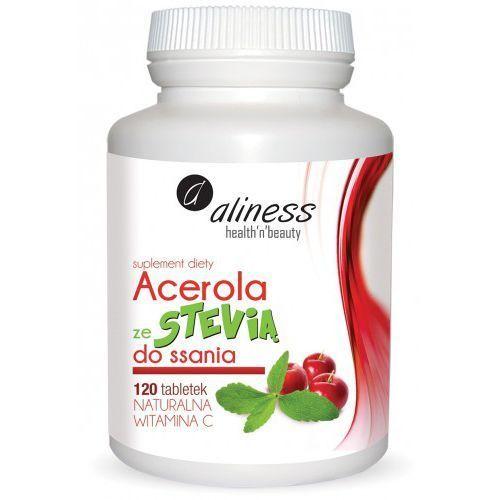 Tabletki Acerola ze Stevią do ssania 120 tabletek