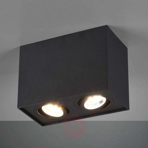 Trio Lampa sufitowa leuchten biscuit czarny, 2-punktowe - nowoczesny - obszar wewnętrzny - biscuit - czas dostawy: od 3-6 dni roboczych