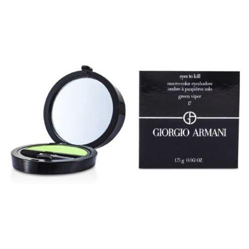Armani Eyes To Kill Mono cienie do powiek odcień 17 Green Viper (Macro-color Eyeshadow) 1,5 g