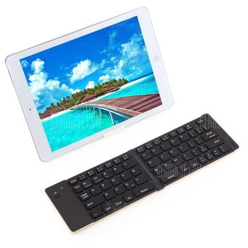 Gearbest F66 universal wireless bluetooth 3.0 collapsible keyboard