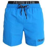 Calvin Klein Swimwear MEDIUM DOUBLE Szorty kąpielowe electric blue lemonade, kolor niebieski