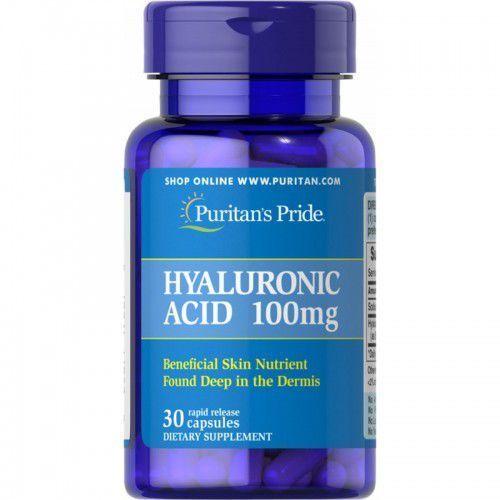 Kwas Hialuronowy 100 mg / 30 kaps (Puritans) (artykuł z kategorii Pozostałe leki chorób stawów i kości)