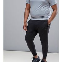 ASOS 4505 Plus super skinny training joggers in black - Black, 1 rozmiar