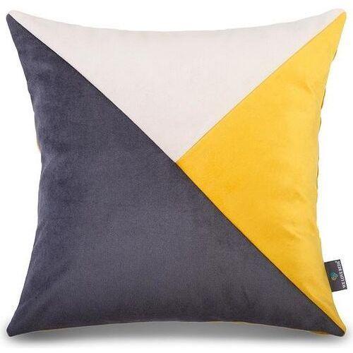 We love beds Welurowa poszewka na poduszkę london, kwadratowa -