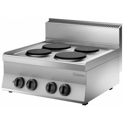 Kuchnia elektryczna nastawna 4 płytowa | 8200W