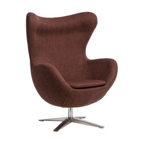 D2design Fotel jajo szeroki (rudy melanż) d2 (5902385724210)