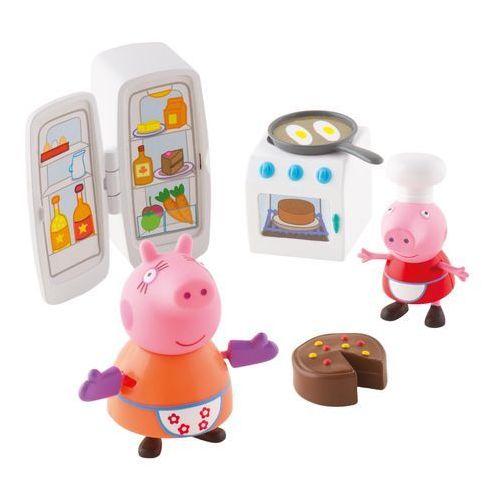 Peppa - zestaw kuchnia + figurki marki Tm toys