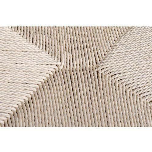 Krzesło wishbone natural - drewno bukowe, naturalne włókno marki King home