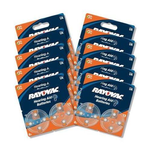 Rayovac baterie do aparatu słuchowego typ 13 (80 szt.) - produkt w magazynie - szybka wysyłka! (0000001105438)