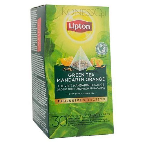 Zielona herbata Lipton Piramida Green Tea Mandarin Orange 30 kopert (8718114995113)