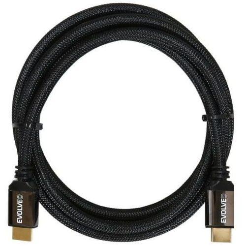 Evolveo XXtremeCord, przewód HDMI 2.1, 1 m, 8K ULTRA HD, 4K, 2K i FHD, przepustowość 48 Gb/s, XXTR1M2.1 (8594161339779)