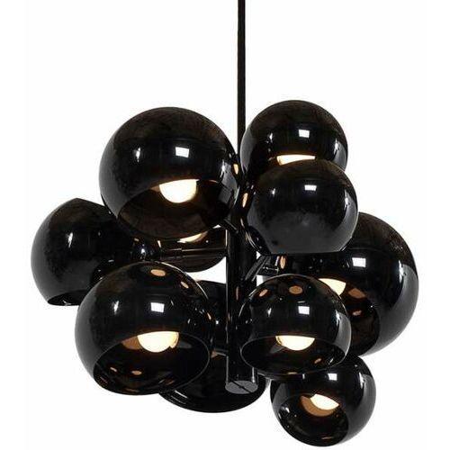 Kks Designerska lampa wisząca t-5335-11 metalowa oprawa zwis kule balls czarne