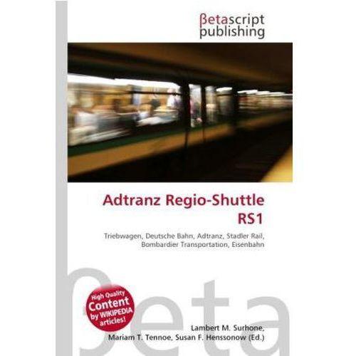 Adtranz Regio-Shuttle RS1