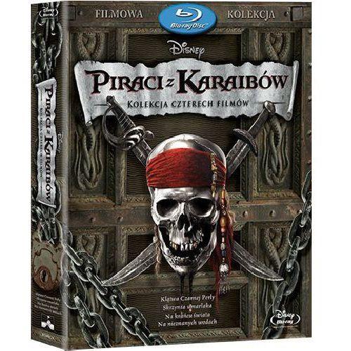 Gore verbinski Piraci z karaibów 1-4. pakiet (4blu-ray) (płyta bluray)