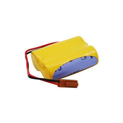 Zamiennik Bateria br-acf2p br-agcf2w a06b-0177-d106 a98l-0031-0011 6.0v z wtyczką fanuc bracf2p bragcf2w a06b0177d106 a98l00310011