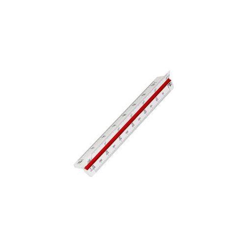 Leniar skalówka 30cm 1:10-100/20-200/25-250/50-500
