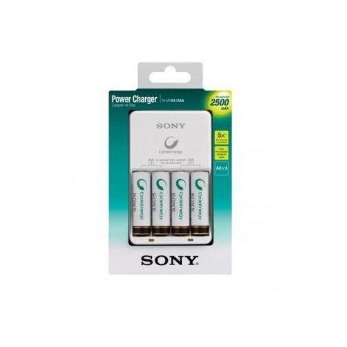 Sony Ładowarka Power 4 sloty + 4x AA 2500mAh