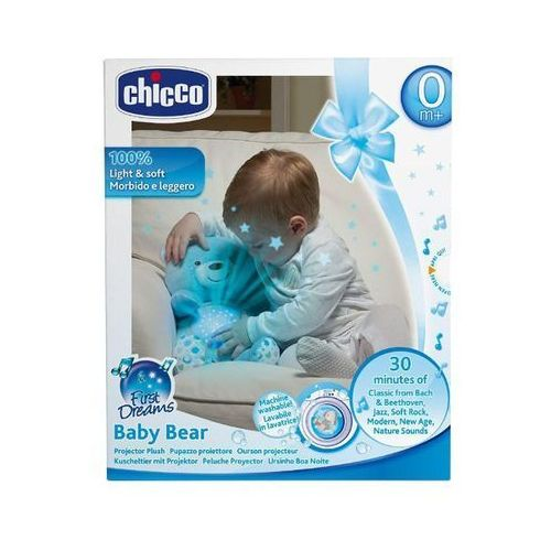 CHICCO Miś z projektorem niebieski (00008015200000) (8058664060368)