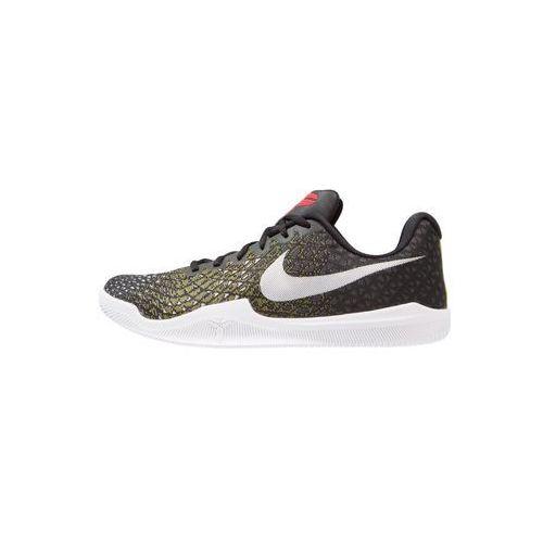 Nike Performance MAMBA INSTINCT Obuwie do koszykówki black/white/dark grey/dynamic yellow, 852473