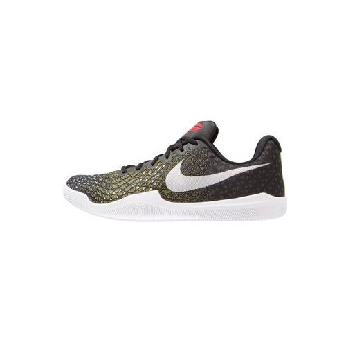 Nike Performance MAMBA INSTINCT Obuwie do koszykówki black/white/dark grey/dynamic yellow, kolor czarny