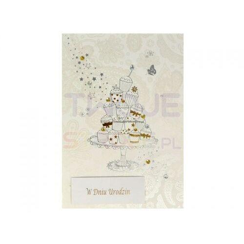 KARTKA URODZINY WISH-1211-03 19x13cm, #D1^yt