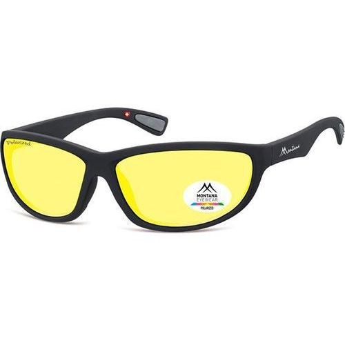 Okulary Słoneczne Montana Collection By SBG SP312 Gladstone Polarized F, kolor żółty