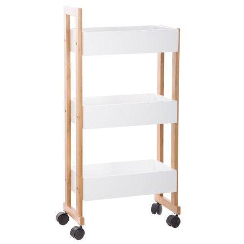 Instant d'o Wózek łazienkowy bamboo, szafka bambusowa - 3 poziomy (3560238983690)