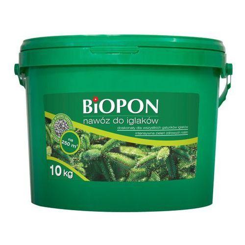 Nawóz do iglaków granulat 10 kg marki Biopon