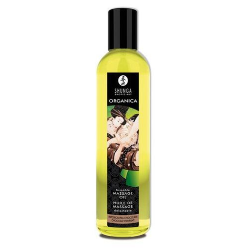 Organiczny olejek do masażu - Shunga Massage Oil Organic Chocolat Czekolada