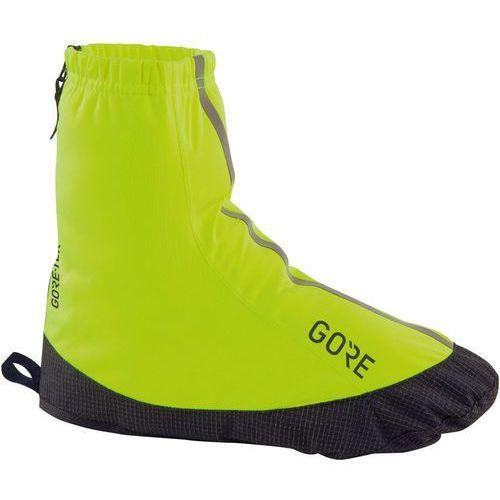 Gore wear c3 gore-tex light osłona na but mężczyźni żółty 42-44 2018 ochraniacze na buty i getry