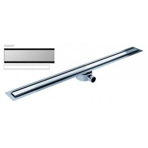 Odpływ liniowy elite slim ponente 90 cm metalowy syfon el900po marki Wiper