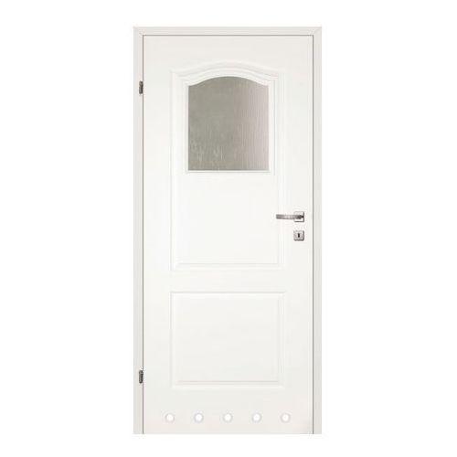 Drzwi z tulejami Classen Classic 60 lewe biały lakier, 365510346