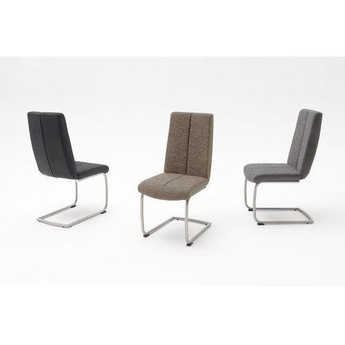 Krzesło tkanina + ekoskóra KAMA B 46/64/101 cm