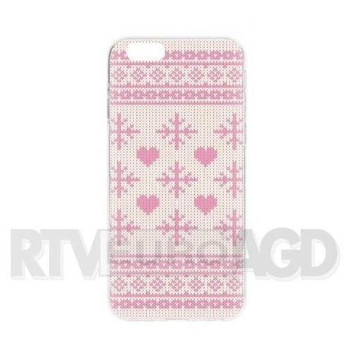 case ugly xmas sweater iphone 6/6s (różowy) marki Flavr