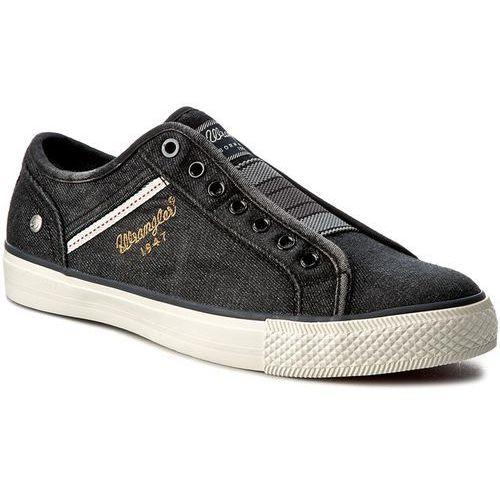 Tenisówki WRANGLER - Starry Slip On Denim WF085267E Black/Denim 337, w 5 rozmiarach