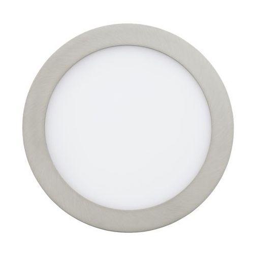 Oczko LAMPA sufitowa FUEVA 1 31675 Eglo podtynkowa OPRAWA ścienna LED 16W okrągły wpust nikiel satynowany (9002759316754)