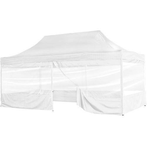 Biały ekspresowy pawilon ogrodowy namiot handlowy 3x6 m - biały marki Instent ®